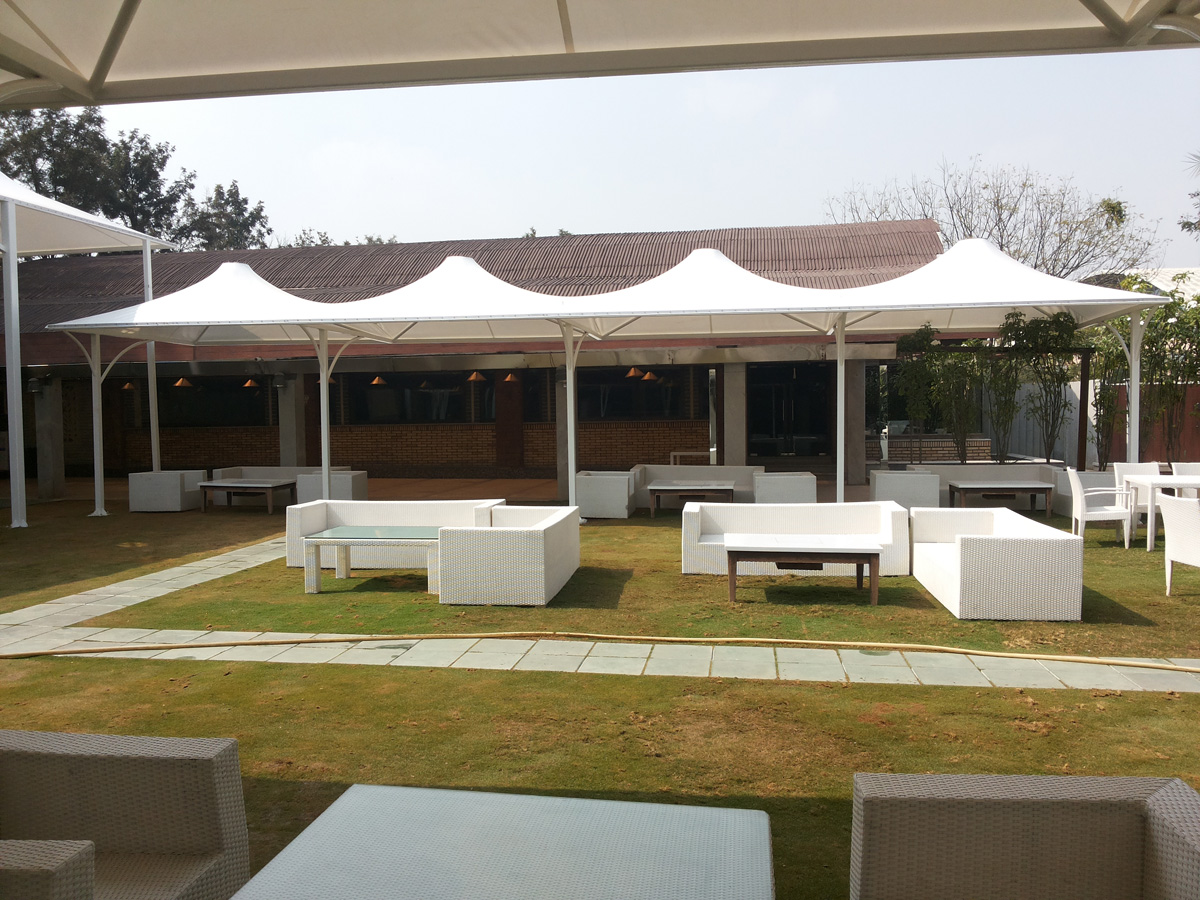 Tensile Fabric Structure Projects Sunshade Solutions